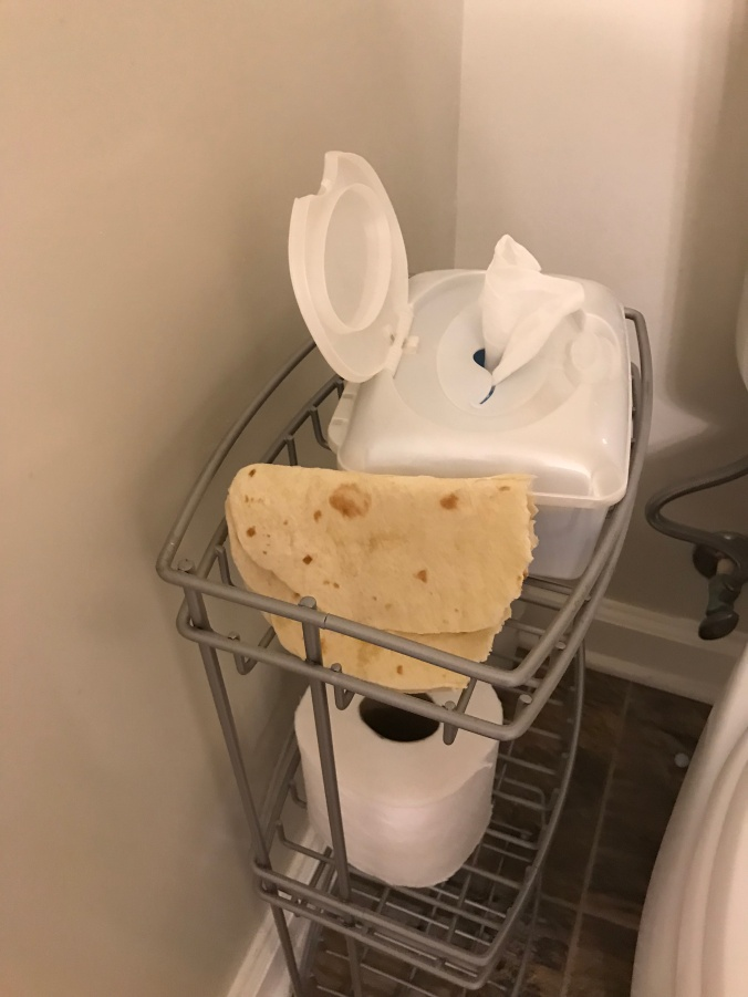 toilet tortilla